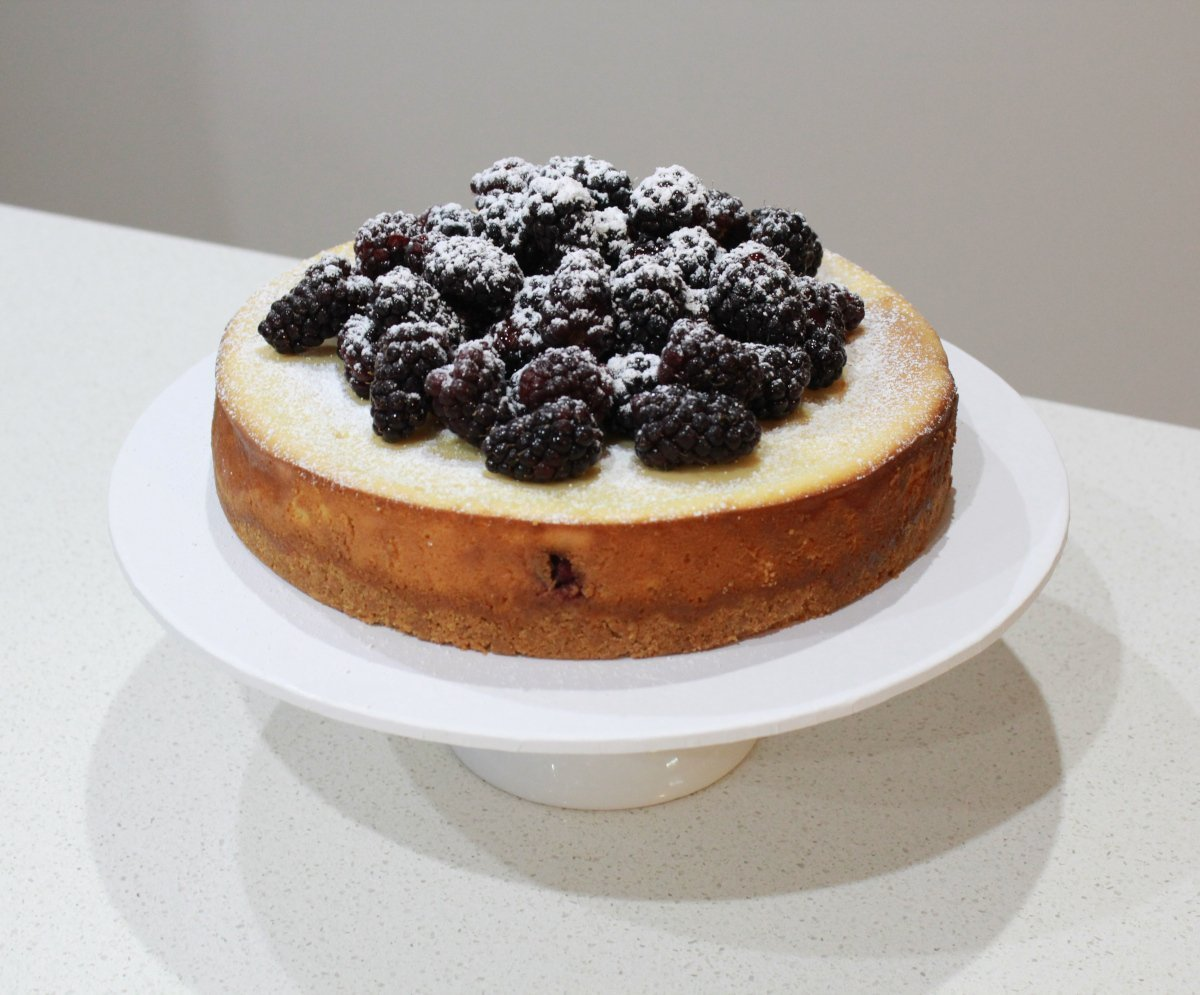 Blackberry Cheesecake- whole